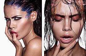 Baard Lunde fashion & beauty photographer. Work by photographer Baard Lunde demonstrating Portrait Photography.Portrait Photography,Beauty Makeup Photo #59171