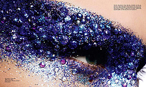 Baard Lunde fashion & beauty photographer. photography by photographer Baard Lunde.Creative Makeup Photo #59173