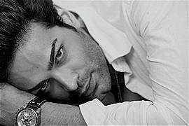 Babak Rahimi model (modello). Photoshoot of model Babak Rahimi demonstrating Face Modeling.Face Modeling Photo #104330