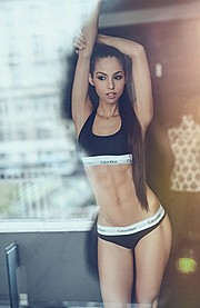 Barbara Bocsi model. Photoshoot of model Barbara Bocsi demonstrating Body Modeling.Body Modeling Photo #168647