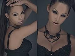 Barbara Bocsi model. Photoshoot of model Barbara Bocsi demonstrating Face Modeling.Face Modeling Photo #75631