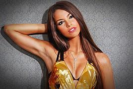 Barbara Bocsi model. Photoshoot of model Barbara Bocsi demonstrating Face Modeling.Face Modeling Photo #75636