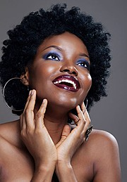 Barbara Onianwah makeup artist. makeup by makeup artist Barbara Onianwah. Photo #68571