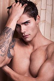 Baris Murat Yagci model. Photoshoot of model Baris Murat Yagci demonstrating Face Modeling.Face Modeling Photo #115224