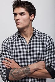 Baris Murat Yagci model. Photoshoot of model Baris Murat Yagci demonstrating Face Modeling.Face Modeling Photo #115227