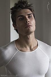 Baris Murat Yagci model. Photoshoot of model Baris Murat Yagci demonstrating Face Modeling.Face Modeling Photo #115232
