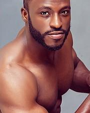 Bayo Abdullazeez model. Photoshoot of model Bayo Abdullazeez demonstrating Face Modeling.Portrait Photography,Face Modeling Photo #181363
