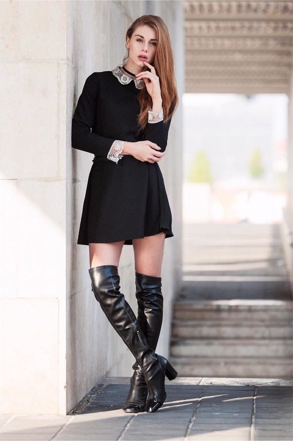 Beatrice Frasson model (modella). Photoshoot of model Beatrice Frasson demonstrating Fashion Modeling.Fashion Modeling Photo #183974