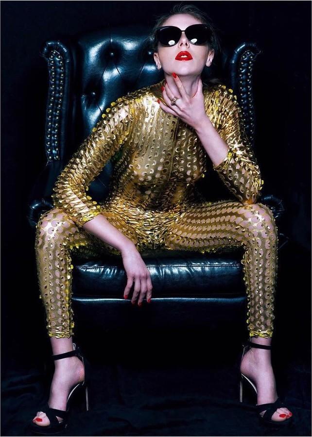 Beatrice Frasson model (modella). Photoshoot of model Beatrice Frasson demonstrating Fashion Modeling.Fashion Modeling Photo #183975