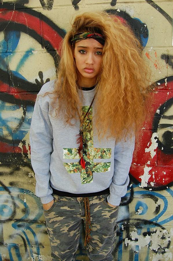 Beija Marie Velez model & fashion designer. Modeling work by model Beija Marie Velez. Photo #95459
