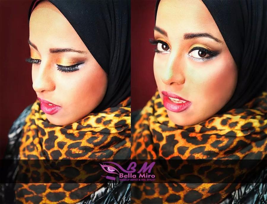 Bella Miro makeup artist & veil stylist. makeup by makeup artist Bella Miro. Photo #111932