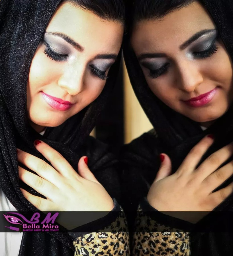 Bella Miro makeup artist & veil stylist. makeup by makeup artist Bella Miro. Photo #111933