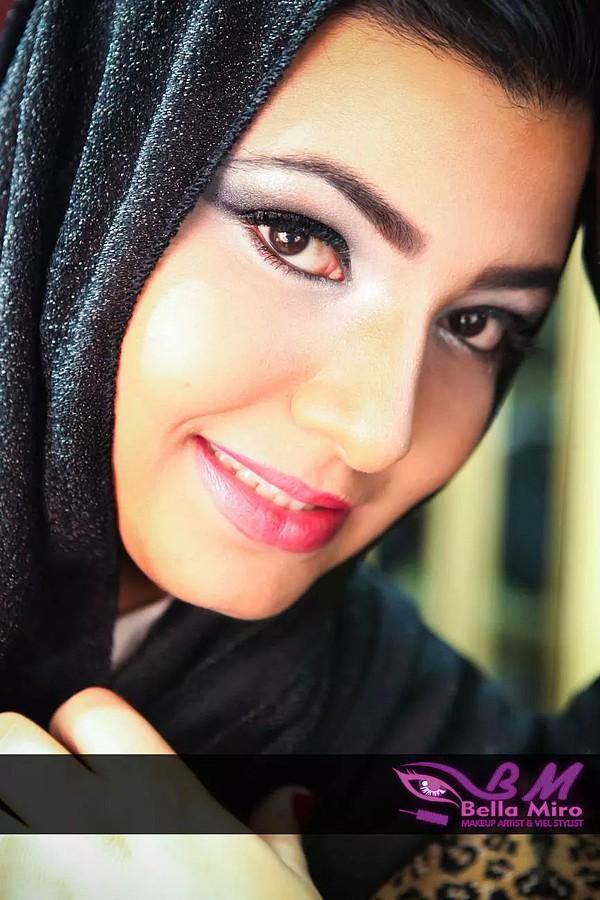 Bella Miro makeup artist & veil stylist. makeup by makeup artist Bella Miro. Photo #111936