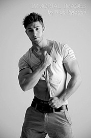 Benji Taylor model. Benji Taylor demonstrating Fashion Modeling, in a photoshoot by Nige Rorbach.Fashion Modeling Photo #93311