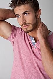 Benji Taylor model. Photoshoot of model Benji Taylor demonstrating Face Modeling.Face Modeling Photo #93312