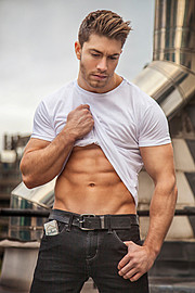 Benji Taylor model. Photoshoot of model Benji Taylor demonstrating Fashion Modeling.Fashion Modeling Photo #93332