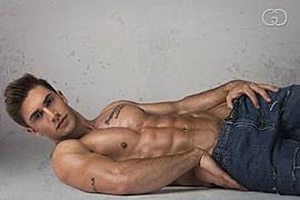 Benji Taylor model. Photoshoot of model Benji Taylor demonstrating Body Modeling.Body Modeling Photo #93339