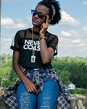 Beverlyne Oduoris an upcoming Kenyan model based in Nairobi, Kenya.She hasn't participated in any fashion show but will be looking forward t