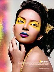Bidita Bag model & actress. Photoshoot of model Bidita Bag demonstrating Face Modeling.Face Modeling Photo #122973