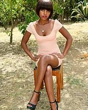 Bilha Muthoni model. Photoshoot of model Bilha Muthoni demonstrating Fashion Modeling.Fashion Modeling Photo #178372