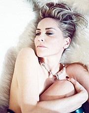 Billy Brasfield makeup artist. Work by makeup artist Billy Brasfield demonstrating Beauty Makeup in a photoshoot of Sharon Stone.Beauty Makeup Photo #87800
