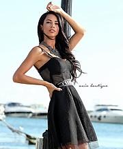 "Boyana Marinova is a model based in Sofia. She has modeled for fashion brands such as AVIN ""ILTOKONI"" и ""NEGATIVE WEAR"" and CHRISTINE FASHIO"