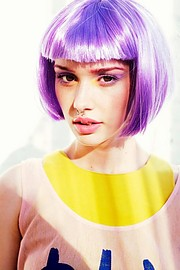 Bree Fry model. Photoshoot of model Bree Fry demonstrating Face Modeling.Face Modeling Photo #198643