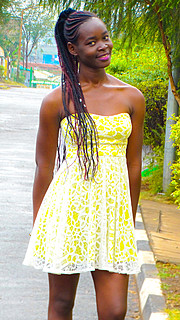 Brenda Ouma model. Photoshoot of model Brenda Ouma demonstrating Fashion Modeling.Fashion Modeling Photo #185687