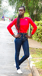 Brenda Ouma model. Photoshoot of model Brenda Ouma demonstrating Fashion Modeling.Fashion Modeling Photo #185688