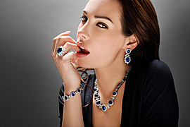 Brian Moghadam photographer. Work by photographer Brian Moghadam demonstrating Portrait Photography.Necklace,EarringsPortrait Photography Photo #166241