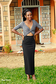 Bridget Mutua Fashion Designer
