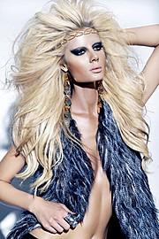 Brittany Mason model. Photoshoot of model Brittany Mason demonstrating Face Modeling.Face Modeling Photo #113923