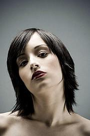 Bryanna Nova model. Photoshoot of model Bryanna Nova demonstrating Face Modeling.Face Modeling Photo #102825