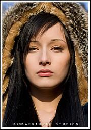 Bryanna Nova model. Bryanna Nova demonstrating Face Modeling, in a photoshoot with Makeup done by Cynthia Rose.Makeup: Cynthia RoseFace Modeling Photo #102826