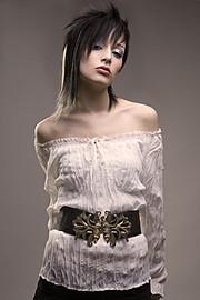 Bryanna Nova model. Photoshoot of model Bryanna Nova demonstrating Face Modeling.Face Modeling Photo #102834