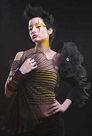 Bryanna Nova model. Photoshoot of model Bryanna Nova demonstrating Face Modeling.Face Modeling Photo #102835