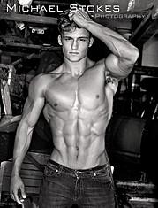Bryant Wood model & actor. Photoshoot of model Bryant Wood demonstrating Body Modeling.Michael StokesBody Modeling Photo #103826