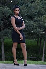 Bulelwa Mary model. Photoshoot of model Bulelwa Mary demonstrating Fashion Modeling.Fashion Modeling Photo #189343