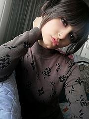 Buthena Hajjar model. Photoshoot of model Buthena Hajjar demonstrating Face Modeling.Face Modeling Photo #216479