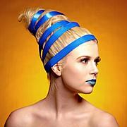Cait Heiner model. Photoshoot of model Cait Heiner demonstrating Face Modeling.Face Modeling Photo #57033
