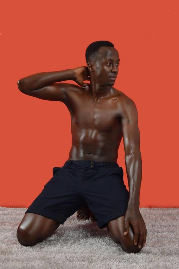 Calvin Majau model. Photoshoot of model Calvin Majau demonstrating Body Modeling.Body Modeling Photo #195409