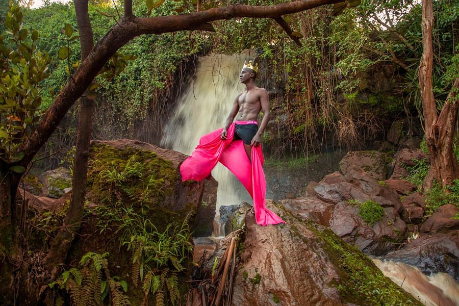 Calvin Majau model. Photoshoot of model Calvin Majau demonstrating Editorial Modeling.Editorial Modeling Photo #220320