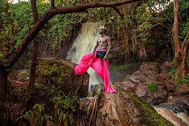Calvin Majau is a model based in Nairobi,KE. His vast experience include numerous photoshoot for designers as well as participation in beaut