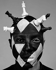 Calvin Majau model. Photoshoot of model Calvin Majau demonstrating Face Modeling.A concept created with Hezy Gitobu at Urban studios, Nairobi - Kenya that we labeled The Labyrinths of the MindFace Modeling Photo #229715