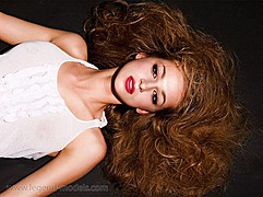 Candy Tony model (модель). Photoshoot of model Candy Tony demonstrating Face Modeling.Face Modeling Photo #74123