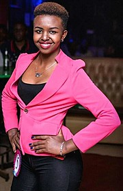 Caroline Nyokabi Model