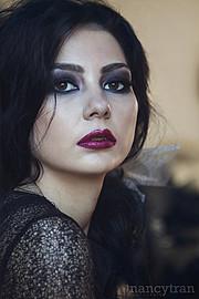 Cassandra Phillips model. Photoshoot of model Cassandra Phillips demonstrating Face Modeling.Face Modeling Photo #91204