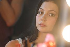Cassandra Phillips model. Photoshoot of model Cassandra Phillips demonstrating Face Modeling.Face Modeling Photo #91209