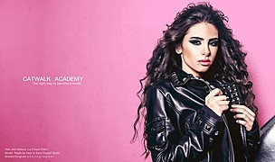 Catwalk Academy Cairo modelling training. casting by modeling agency Catwalk Academy Cairo. Photo #143643