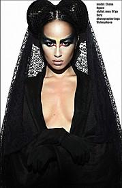 Chana Nguyen model (модель). Photoshoot of model Chana Nguyen demonstrating Fashion Modeling.Fashion Modeling Photo #135084